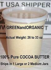 Crudo Burro di Cacao 100% Biologico Naturale Puro Non Raffinato Vergine