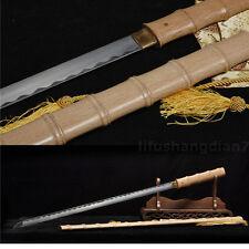 "39"" HANDMADEFULL TANG BLADE JAPANESE SWORD KATANA 1060 CARBON STEEL BATTLE READY"
