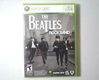 Beatles: Rock Band (Microsoft Xbox 360, 2009)