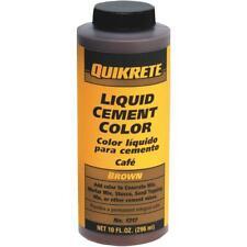 New listing Quikrete Brown 10 Oz Liquid Cement Color 1317-01 - 1 Each