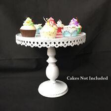 12-inch Vintage Cupcake Cake Stand Dessert Platter Holder Wedding Party Steel