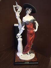 "Florence Giuseppe Armani ""fascination lady with sculpture"" 0192-C Figurine #2044"