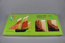 ZF968 Soclaine 1/50 maquette bateau LP1010 Bisquine 1908 Patrimoine Petrel Bois