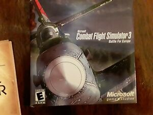 MICROSOFT - Combat Flight Simulator 3 BATTLE FOR EUROPE   PC GAME WINDOWS