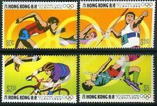 China 1992 Hong Kong Summer Olympics Set MNH C674 ⭐⭐⭐⭐⭐⭐