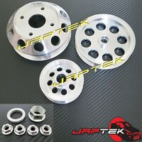 Lightweight Pulley Set for Nissan S13 S14 S15 180sx Silvia 200sx SR20DET SR20