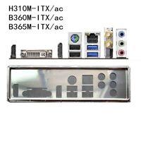 I/O IO Shield For ASRock H310M-ITX/ac B360M-ITX/ac B365M-ITX/ac Backplate NEW