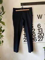 J.Crew Men's Ludlow Slim Wool Suit Trousers Navy Blue Flannel 31 x 32