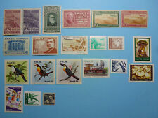 LOT 5377 TIMBRES STAMP POSTE AERIENNE ET DIVERS BRESIL ANNEE 1939-86