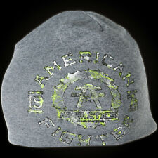 American Fighter by Affliction Beanie Maryland Tech Grey