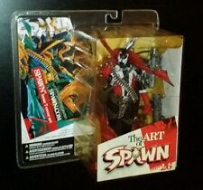 McFarlane Art of Spawn Series 26 SPAWN ISSUE #7 COVER ART Comic Figure Statue