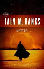 New! Matter by Iain M. Banks (2008, Hardcover) with dust jacket!