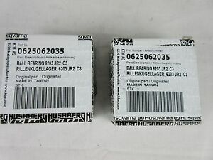 KTM SX50 motocross genuine main bearing x 2 bearings 01-16