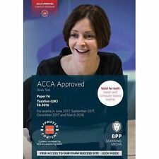 ACCA F6 Taxation FA2016: Study Text, Good Condition Book, BPP Learning Media, IS