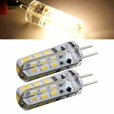 2 x Bulb Lamp G4 24 SMD 3014 LED Light Warm White 1.5W 12V DC