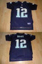 Youth Girls New England Patriots Tom Brady L(14) Reebok (Navy/Light Blue) Jersey