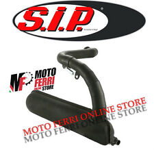 MARMITTA SILURO RACING NERA SIP ROAD VESPA 50 SPECIAL R L N MODIFICA 130 135 CC