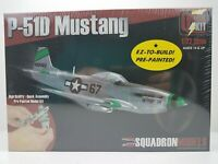 P-51D Mustang Squadron Models Pre-Painted, Quick Assembly SQ-7003 1/72 Scale