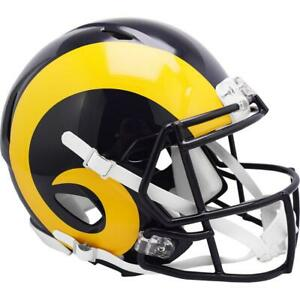 ST. LOUIS RAMS 1981-99 Riddell Throwback Authentic Football Helmet
