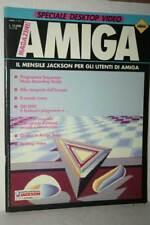 RIVISTA AMIGA MAGAZINE NUMERO 7 ANNO 2 1989 USATA EDIZIONE ITALIANA FR1 54731