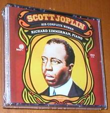 Scott Joplin - His Complete Works ~ Richard Zimmerman, Piano - 4 CD Box Set New