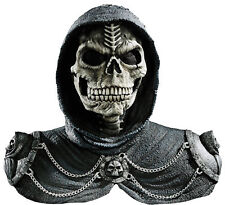 Dark Reaper Mask And Shoulders Halloween Prop Latex Disguise Costume