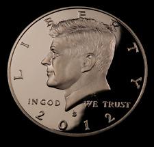 2012-S Kennedy Half Dollar // Gem Proof Deep Cameo DC// 1 Coin.