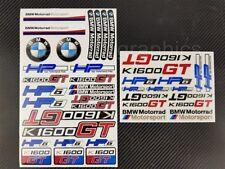 K1600GT motorcycle quality stickers decals set bmw k1600 GT motorrad HP6 gtl