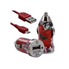 Chargeur voiture allume cigare USB avec câble data CV01 pour Thomson : Nimble TH