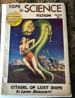 TOPS IN SCIENCE FICTION  PULP March 1953 GOLDEN AGE of SCIENCE FICTION