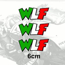 Valentino Rossi Sticker WLF 6cm x3