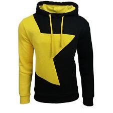 New Men Winter Hoodie Warm Hooded Spliced Sports Sweatshirt Coat Jacket Sweater