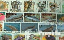 Motieven 50 verschillende Vis en Waterdieren Postzegels