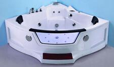 New 2/3 Person Computerized Hydrotherapy Bathtub Tub Whirlpool Massage Spa HEAT