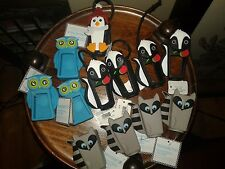 13 RARE BATH and & BODY WORKS POCKETBAC HOLDER RACCOON OWL SKUNK PENGUIN PENGUIN