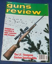 GUNS REVIEW MAGAZINE MAY 1995 - THE I.F.THOMPSON CUSTOM SPORTING RIFLE