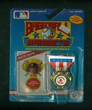 1989 KISCOM BASEBALL BADGETS / MIKE GREENWELL -  BOSTON RED SOX