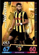 Match Attax 2018/19 EXTRA - Watford Marc Navarro (Update Card) No. U69