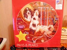 """Great American Puzzle Factory """"Paws And Pearls"""" Over 500 Piece Puzzle"""