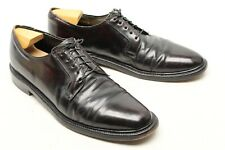 Hanover LB Sheppard Mens Dress Shoes 12 A Burgundy Shell Cordovan Plain Toe