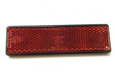 Reflektor Katzenauge 94x28mm Rot mit M5 Gewindebolzen E-Geprüft