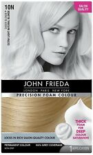JOHN FRIEDA PRECISION COLOUR HAIR DYE 10N EXTRA LIGHT NATURAL BLONDE UK BMUK