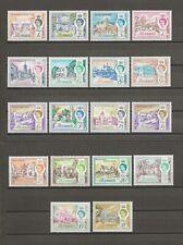 More details for bermuda 1962-68 sg 163/79 mnh cat £40