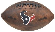 Nfl Wilson Houston Texans 9 inch Mini Leather Official Color Logo Football