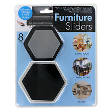 4 Large & 4 Mini Reusable Dining Room Table, Chair Sofa, Couch Furniture Sliders