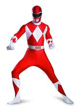 Costumes for All Occasions Dg55620c Red Ranger Bodysuit Costume 50