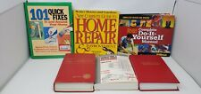 Home Improvement Books Lot of 6 Do It Yourself Construction DIY House Repairs