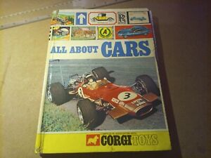 All About Cars and Motoring with Corgi Toys 1969 Hardback Book Annual Century 21