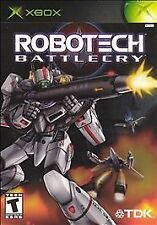 Robotech: Battlecry (Microsoft Xbox, 2002)- Complete