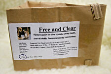 New listing Free & Clear Herbal Support For Cats & Dogs Urine Crystals and Urinary Health